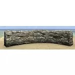 Solitude Wall, Low Curved Stone