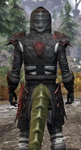 Thorn Legion Heavy - Argonian Male Close Rear