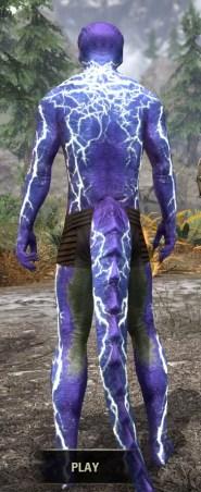 Kyne's Fury - Argonian Male Rear