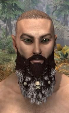 Old Salt's Chin-Trinket - Male Front