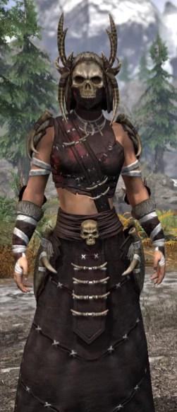 Ancestral Reach Light - Female Robe Close Front