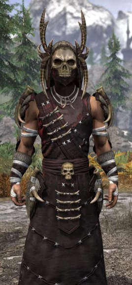 Ancestral Reach Light - Male Robe Close Front