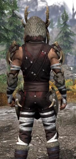 Ancestral Reach Light - Male Shirt Close Rear