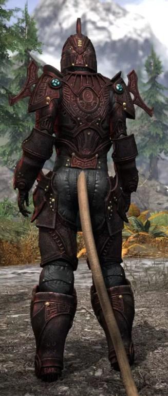 Arkthzand Armory Heavy - Khajiit Female Rear