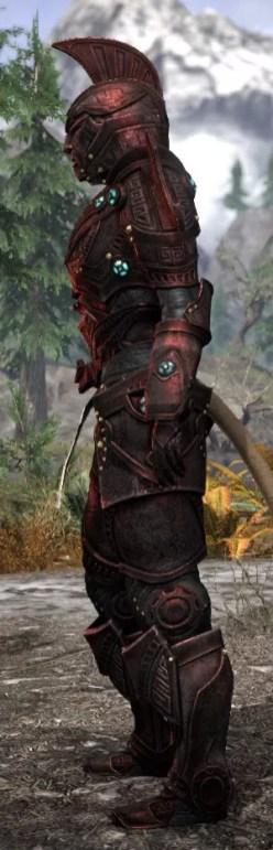 Arkthzand Armory Heavy - Khajiit Female Side