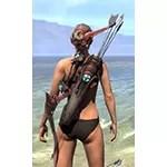 Arkthzand Armory Ruby Ash Bow