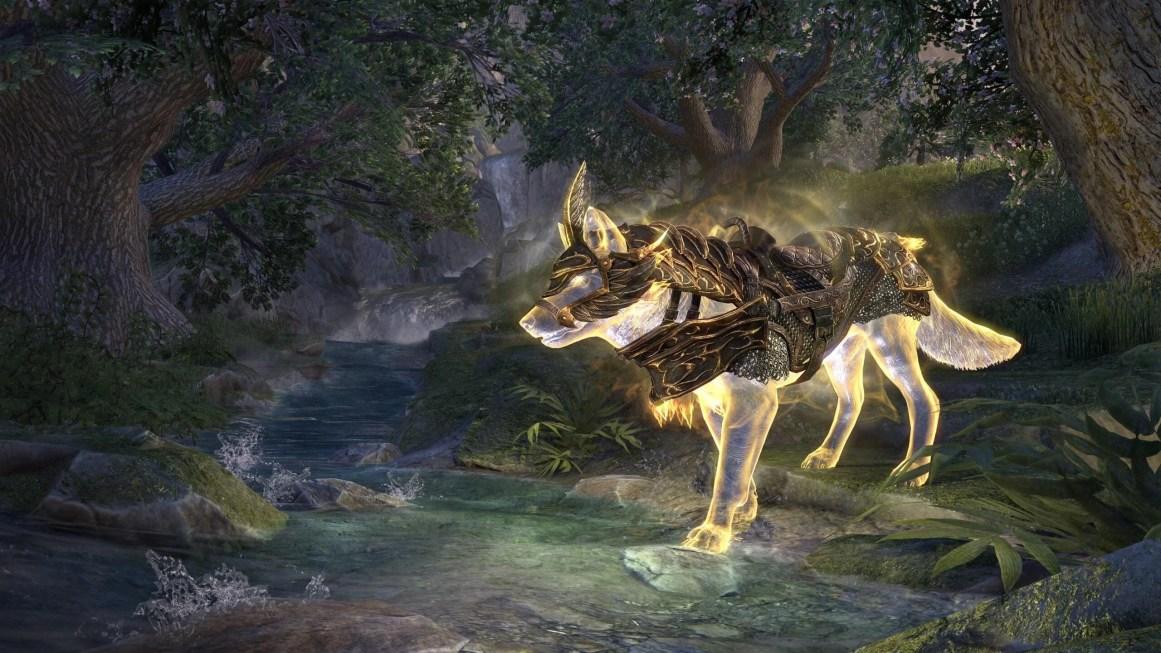 Auroran Penumbra Wolf