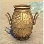 Dwarven Amphora, Ornate Polished