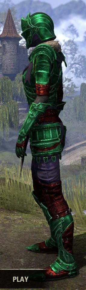 Ebonsteel Knight - Dyed Side