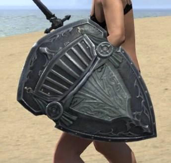 Ebonsteel Knight Shield 2