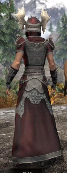 Sea Giant Ancestor Silk - Female Robe Rear