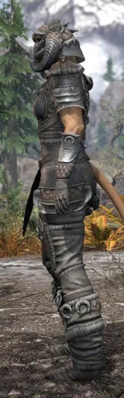 Sea Giant Iron - Khajiit Female Side