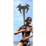 Thorn Legion Iron Battle Axe
