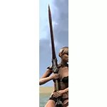 Thorn Legion Rubedite Greatsword