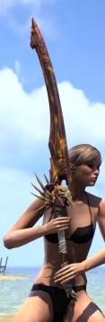 Wayward Guardian Greatsword 2