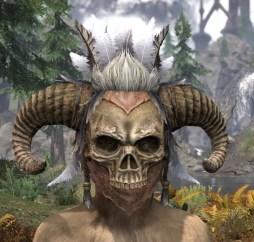 Witchwise Headdress - Khajiit Female Front