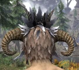 Witchwise Headdress - Khajiit Female Rear