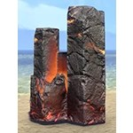 Basalt Pillar, Glowing