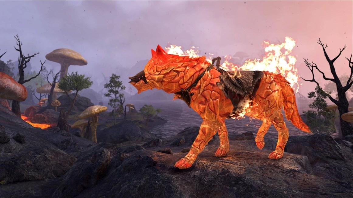 Blazeborn Wolf