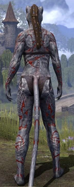 Dagon's Viscerent - Khajiit Female Rear