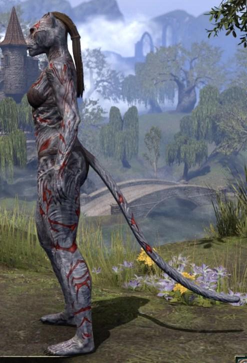 Dagon's Viscerent - Khajiit Female Side