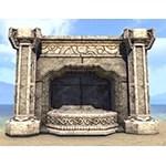 Markarth Fireplace, Stone