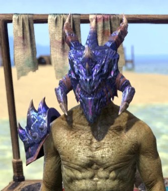 Opal Nightflame - Argonian Male Front
