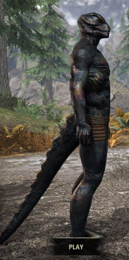 Slag Town Diver - Argonian Male Right