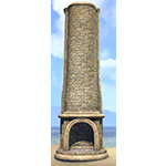 Solitude Hearth, Rounded Tall