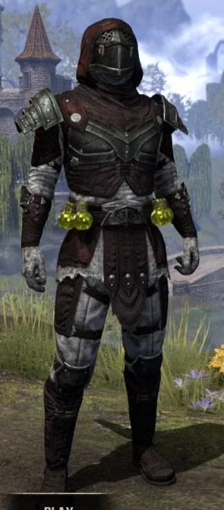 True-Sworn Heavy - Argonian Male Front