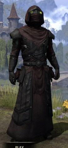 True-Sworn Light - Argonian Male Robe Front