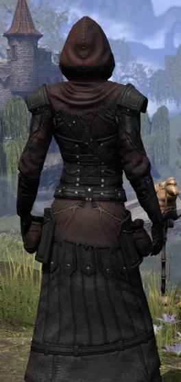 True-Sworn Light - Female Robe Close Rear
