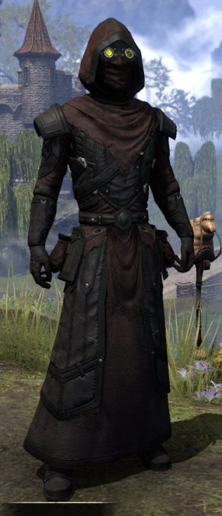 True-Sworn Light - Male Robe Front