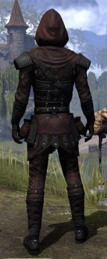 True-Sworn Light - Male Shirt Rear