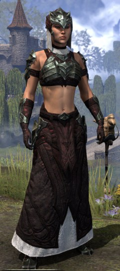 Waking Flame Light - Female Robe Front
