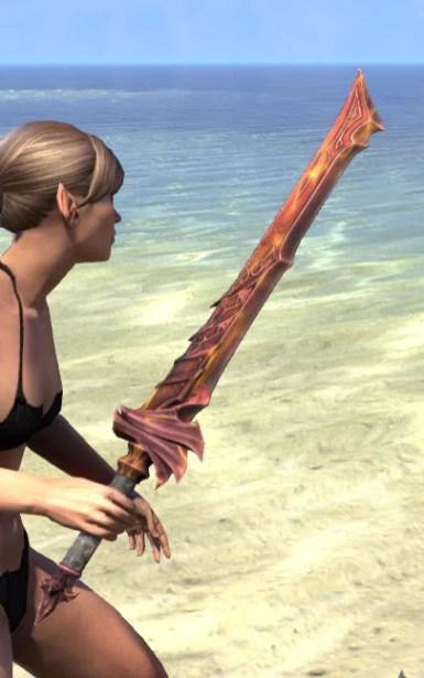 Waking Flame Sword 2
