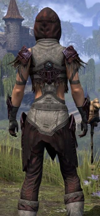 Wayward Guardian Ancestor Silk - Female Shirt Close Rear