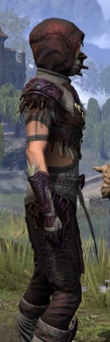 Wayward Guardian Ancestor Silk - Female Shirt Close Side