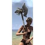 Wayward Guardian Iron Battle Axe