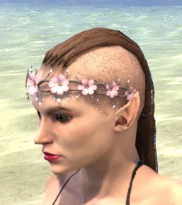 Cherry Blossom Anadem - Female Side