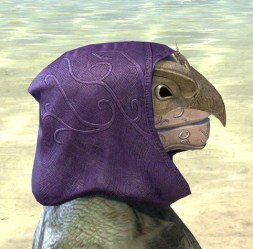 Courtly Crow Mask - Argonian Male Right