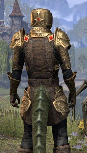 Imperial Champion - Argonian Male Close Rear