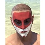 Raconteur Red Face Paint