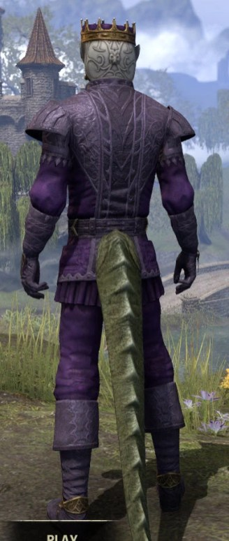 Regal Regalia - Argonian Male Rear