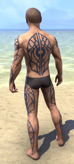 Saliache Scholar Body Markings - Male Rear
