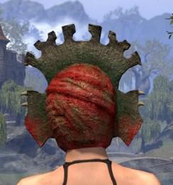 Bog Blight Funerary Mask - Female Rear