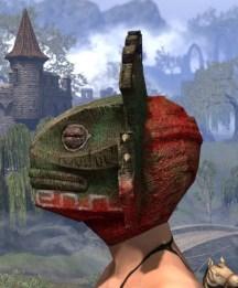 Bog Blight Funerary Mask - Female Side