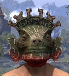 Bog Blight Funerary Mask - Male Front