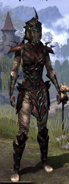 Daedric Medium - Female Front