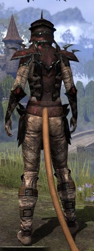 Daedric Medium - Khajiit Female Rear